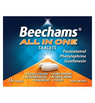 Beechams All in One x 16 Tablets