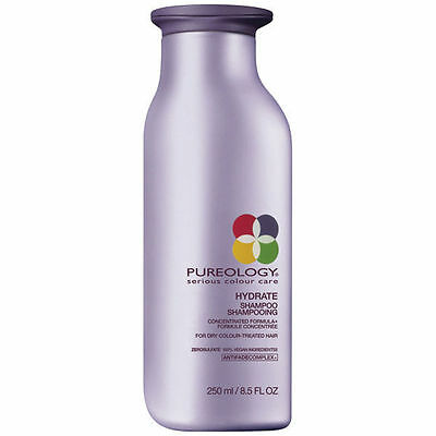 Pureology Hydrate Shampoo 250ml - For Dry Color Treated Hair