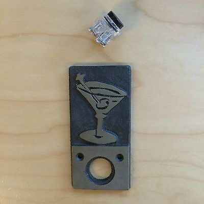 Paul Strauch Designed Push Button Doorbell - Martini
