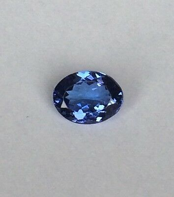 AAA Intense Violetish BLUE 1.29 Ct IGI Certified Tanzanite Excellent Colour Oval