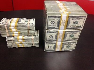 $300,000 cube +2, $50,000 stacks prop money, very realistic for Movies, videos,