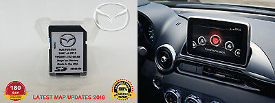 MAZDA CONNECT Navigation Map SD NAVTEQ 2017/2018 Mazda 2, 3, 6, CX-3, CX-5, MX-5