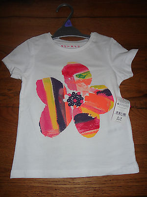 BNWT Nutmeg Girl Flower Summer Time Cotton Top & Trousers 2-3 Years Month Gift
