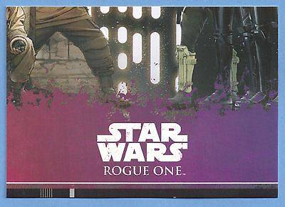 Topps Star Wars Rogue One Karte Nr.127
