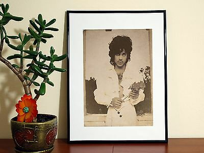 Prince Retro Photo - A4 Glossy Poster - FREE Shipping