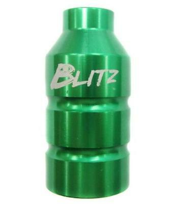 Blitz Pro Scooter Stunt Pegs with 60mm 70mm and 80mm Axle Set Green