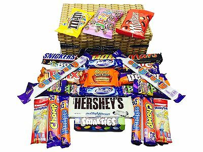 Luxury Chocolate Lovers Gift Sweet Hamper Cadbury Hershey's Reece's Big Cup