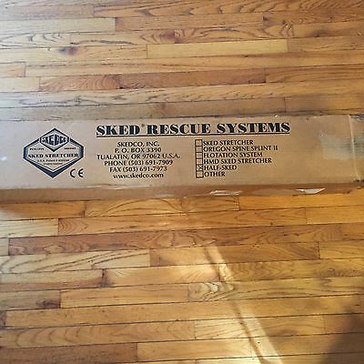Skedco HALF SKED Portable Rescue Stretcher New In Box!!!