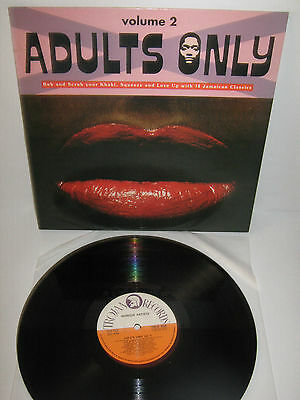 VV.AA. – Adults Only - volume 2   – vinyl LP – Lee Perry, Ethiopians
