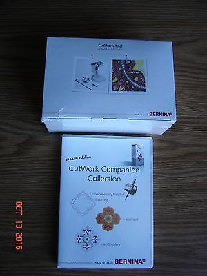 Bernina CutWork Tool- Companion Collection Cutting Applique Embroidery New