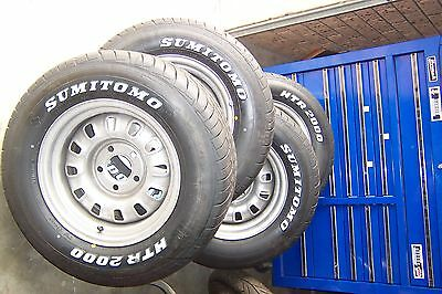 """Ford 14"""" X 7"""" Roh 12 Slot Wheel Package."""