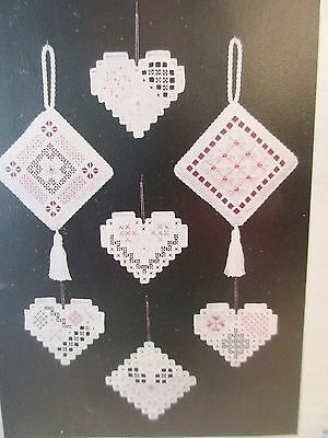 Hermanson Hardanger EXQUISITE CHRISTMAS ORNAMENTS 1999  Collection 3