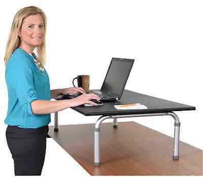Standing Desk Adjustable Height Office Computer Laptop Sit Stand Up Workstation