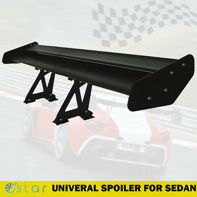 New Universal Aluminum Adjustable Light Weight GT Rear Racing Spoiler Wing