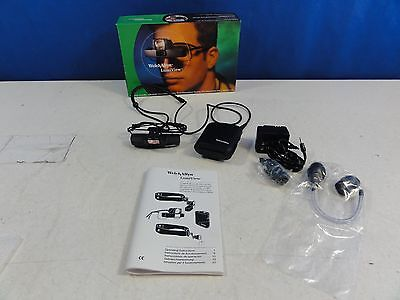 Welch Allyn Model 20500S: Spectacle Mount Lumiview with Portable Power Source