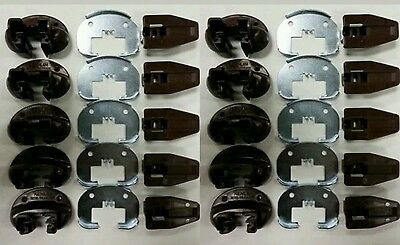 Kenlin Rite-Trak ll Replacement Drawer Glides. Lot Of 10. Commercial Style.