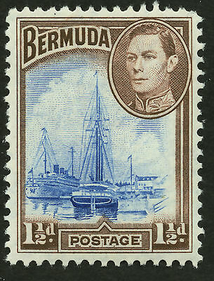 Bermuda  1938-51  Scott #119  Mint Never Hinged