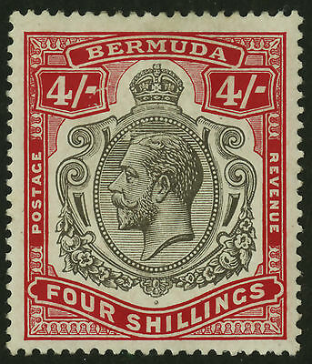 Bermuda  1910-24  Scott # 51  Mint Hinged