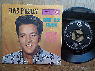 Elvis Presley  Good Luck Charm / Anything That´s Part Of You