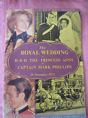 The Royal Wedding: Princess Anne & Captain Mark Phillips