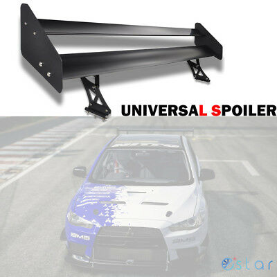 Universal Aluminum Adjustable Double Deck Rear Truck GT Wing Spoiler