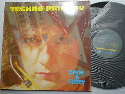 CHRIS & COSEY Thecho Primitiv SPAIN LP 1986 NM Minimal SYNTH POP Industrial