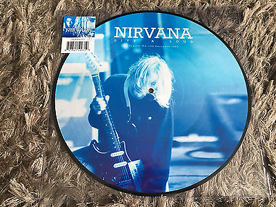 Nirvana - Live And Loud Seattle December 1993 - New 140g PICTURE DISC Vinyl LP
