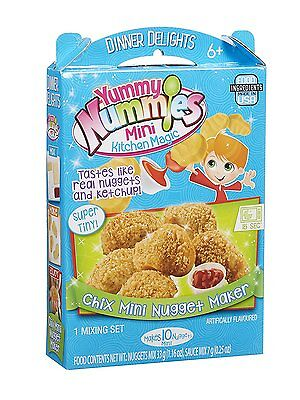 Yummy Nummies - Chix Nugget Maker - Dinner Delights Toy, Makes 10 Mini, BNIB