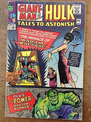 Tales To Astonish #66. 1965. Hulk And Giant-Man