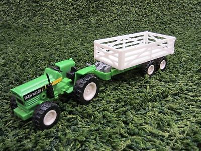 NewRay 1:28 Tractor with Wagons