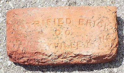 "Vintage Brick - ""Vitrified Brick Co. - Coffeyville, Kans."""