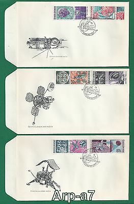 (FC1148) Czechoslovakia FDC- First Day Cover 1966 Space Exploration