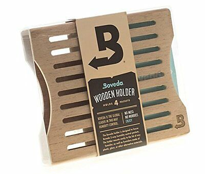 Boveda Official Wood 4-packet Holder