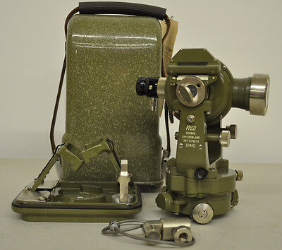 Kern DKM2 Theodolite with Lamp Kit - RARE - 14325003