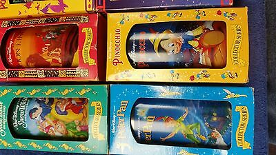 Lot of 9 Burger King Disney Collectible cups