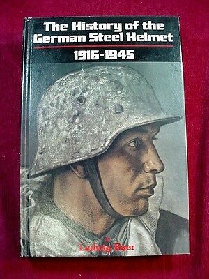 1985 1st Edition Book The History of the German Steel Helmet 1916 – 1945 by Baer
