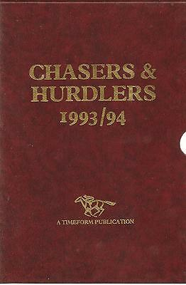 Horse Racing: Timeform chasers and hurdlers 1993/94 + Statistical Companion