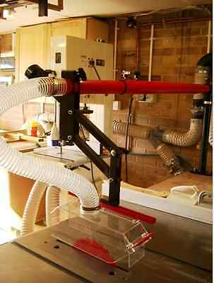 axminister Table Saw Dust Collection Guard