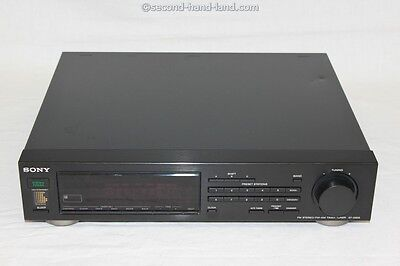 Sony ST-D905, FM Stereo/FM-AM Timer Tuner