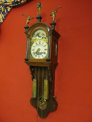 Vintage wall clock friesen wall clock