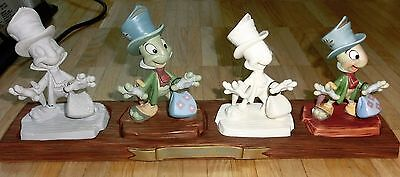 Disney WDCC Porzellanfigur Jimminy Cricket -Progression - 5 pcs- Set