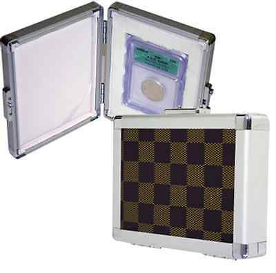 Guardhouse Aluminum Case 1 Certified Graded Coin Slabs Box Safe Travel PCGS NGC