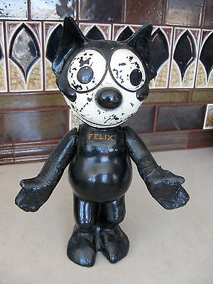 Very Rare Original 1924 Felix the Cat 12 inch Composition doll