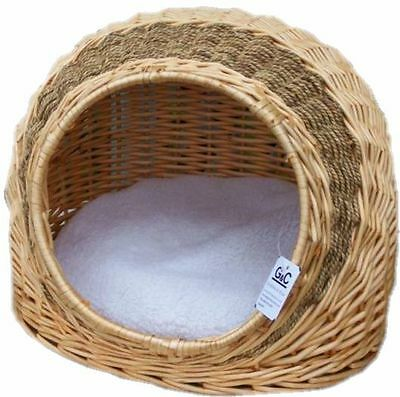 Cat Dog Igloo Cave Bed With Cushion