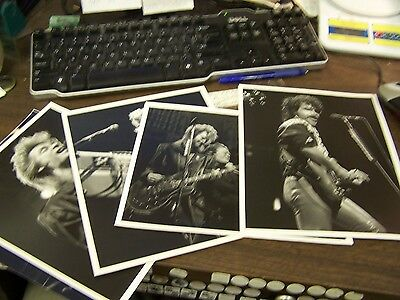Lot Of 5 - Hall And Oates 8 By 10 Inch Concert Photographs - Excellent