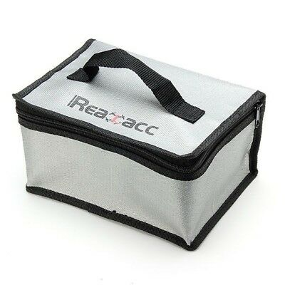 Realacc Fire Retardant Lipo Battery Bag(220x155x115mm)With Handle