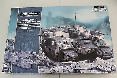 Warhammer 40k Imperial Guard Stormlord large plastic tank boxed set