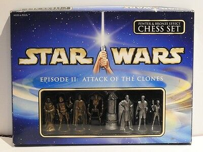 Star Wars Chess Set Episode 2 Attack of the Clones new