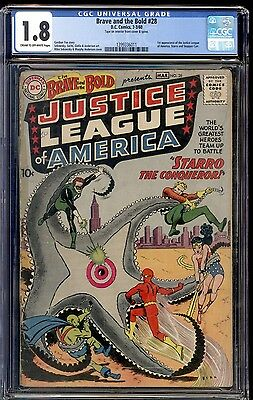 1960 Brave and the Bold #28 CGC 1.8 Justice League 1st App