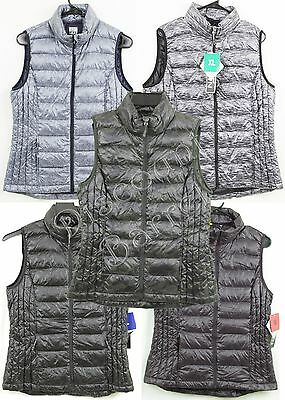NWT 32 Degrees Heat Women's Weatherproof Pack-able Ultra Light Down Vest S M L